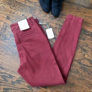 A new day High Rise Skinny Chino Pants - NEW!!
